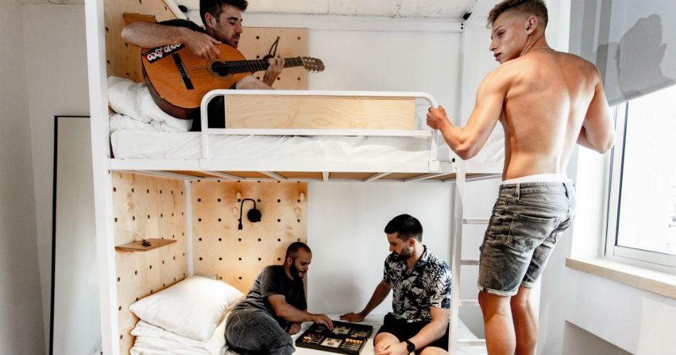 Gia Hostel Tel Aviv | 4 bed male dorm